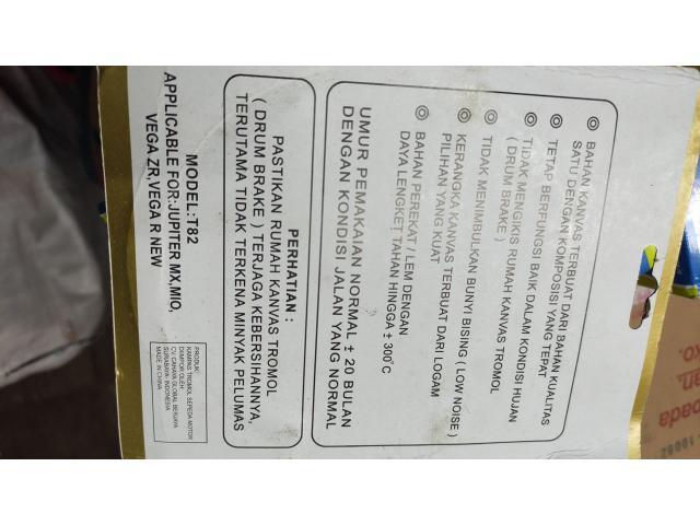 Kampas Rem Belakang Mio Sporty / MX Merk Orisin