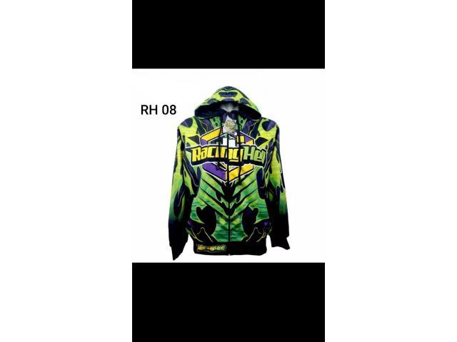 Jaket motif balap